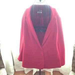 Calvin Klein Red Suit Jacket